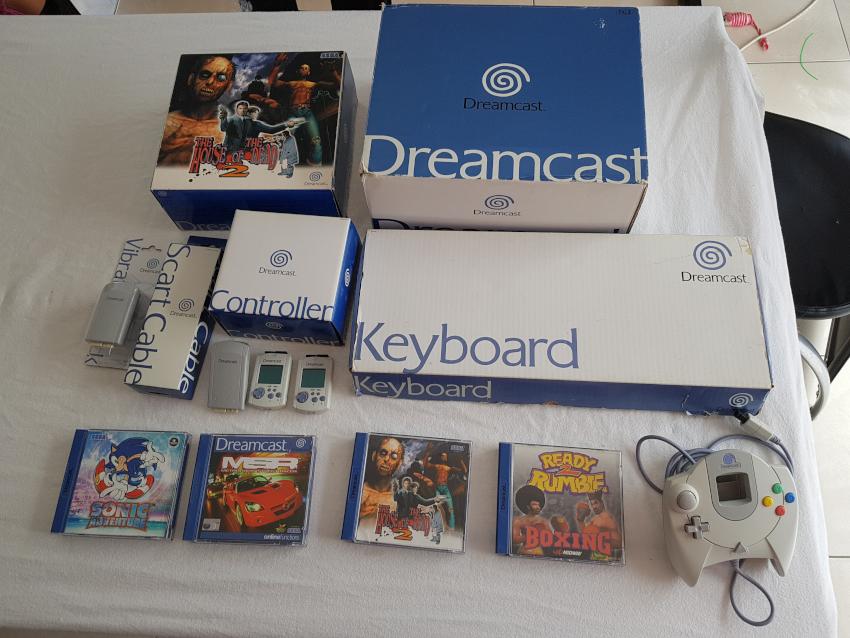[VDS] lots Dreamcast et megadrive 20180512