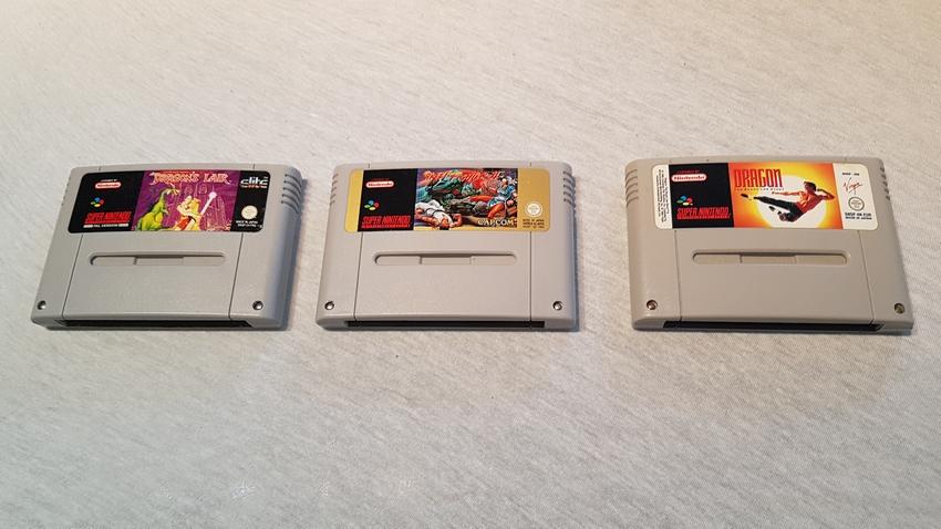 [VDS] lots NES, SNES 20190925