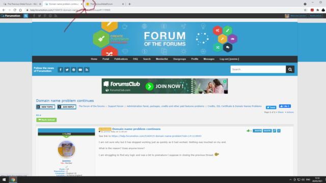 Domain name problem continues Smiley10