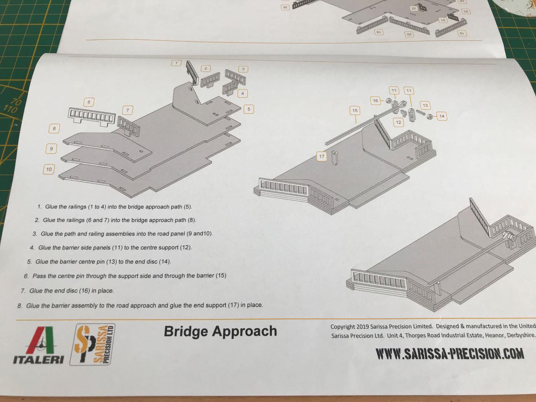 Pegasus Bridge - Italeri - 1/72 1213