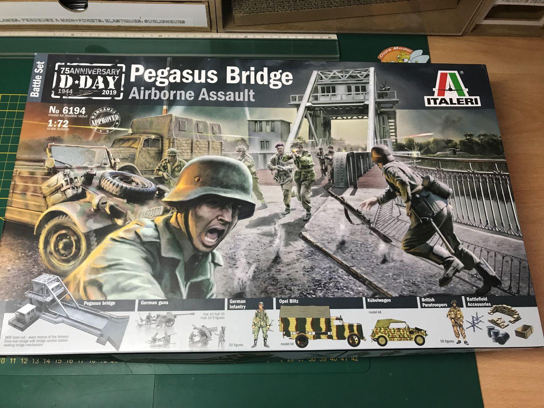 Pegasus Bridge - Italeri - 1/72 2912
