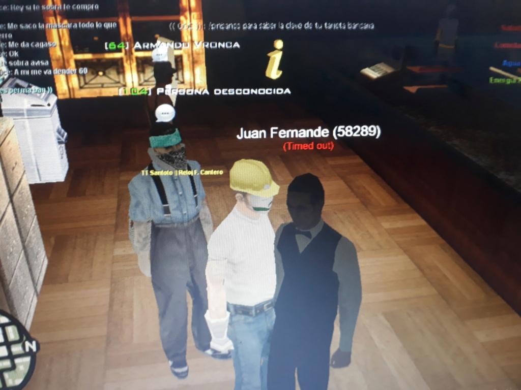 Juan Fernande me estafo diciendome que me iba a dar 450 de Hierro 20210813