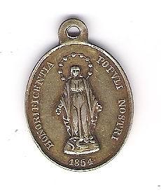 Médaille du pape Pio Nono Photo10