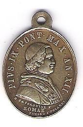 Médaille du pape Pio Nono Photo_12