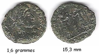 petit bronze de Constans Romain10