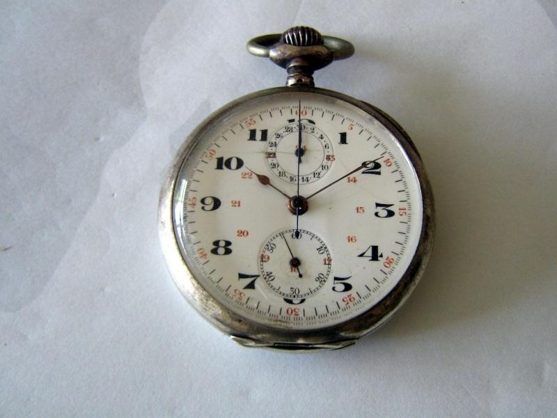 Gousset chronographe : il y a un de ces bazar là-dedans ! Chrono12