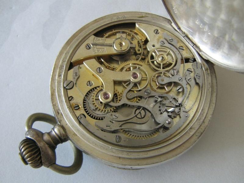 Gousset chronographe : il y a un de ces bazar là-dedans ! Chrono14