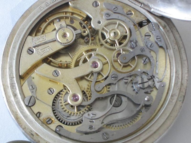 Gousset chronographe : il y a un de ces bazar là-dedans ! Chrono15