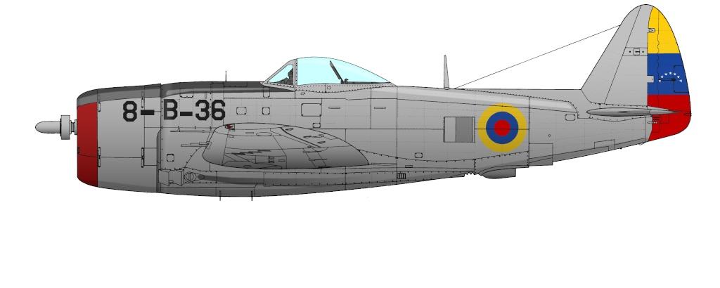 """Republic P-47 """"Thunderbolt"""" P-47d_10"""