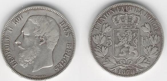 2 centimos de Leopoldo I (Belgica, 1842 d.c) Belga_10