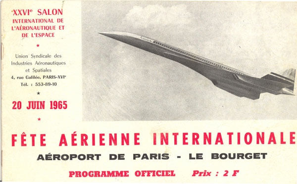 Salon du Bourget 1965 Untitl38
