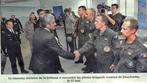 Le Rafale séduit le ministre de la Défense Rafale11
