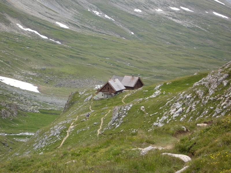 Tignes / col de la Leisse / Refuge de la Leisse. Dsc02321