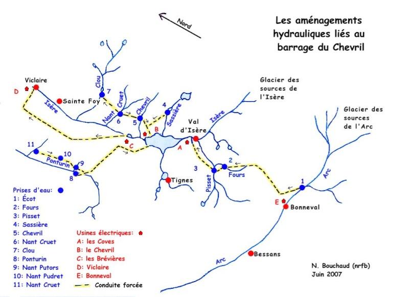 [Tignes] Le barrage de Tignes et les aménagements liés - Page 2 Hydrol12
