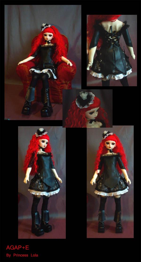[AGAP+E] Robe sirène pour Monster high (p.10) 06/07 Agape_14