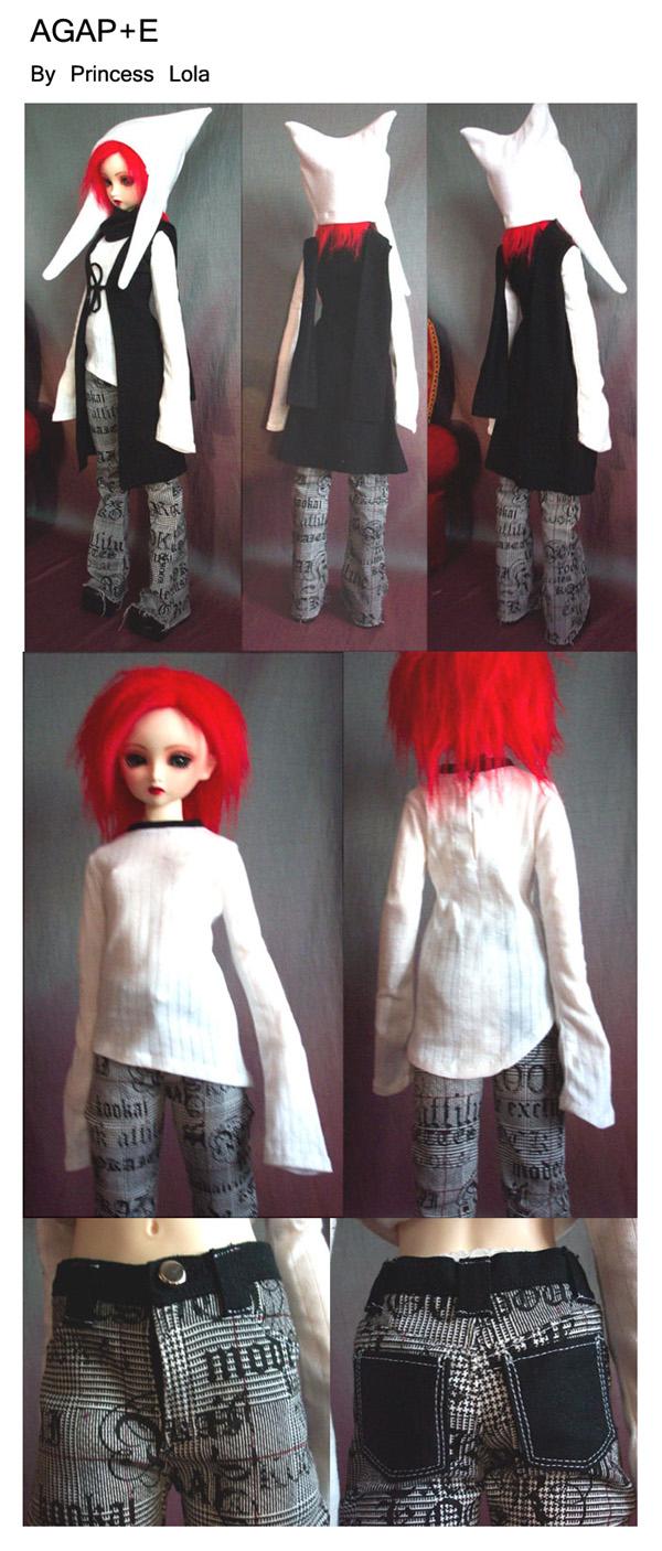 [AGAP+E] Robe sirène pour Monster high (p.10) 06/07 Agape_18