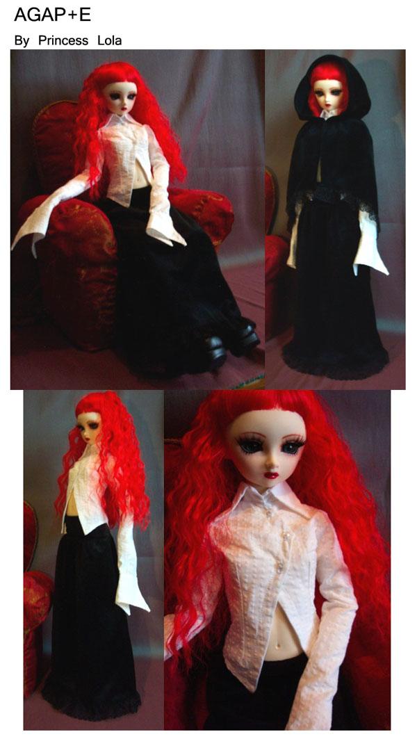 [AGAP+E] Robe sirène pour Monster high (p.10) 06/07 Agape_27