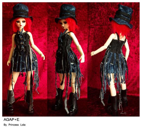 [AGAP+E] Robe sirène pour Monster high (p.10) 06/07 Agape_28