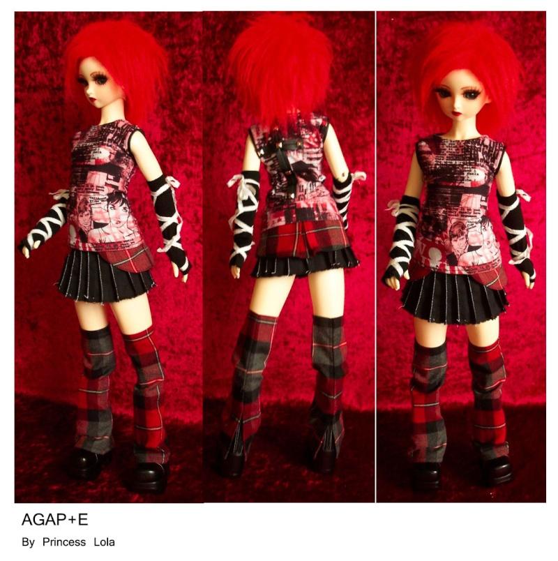 [AGAP+E] Robe sirène pour Monster high (p.10) 06/07 Agape_29