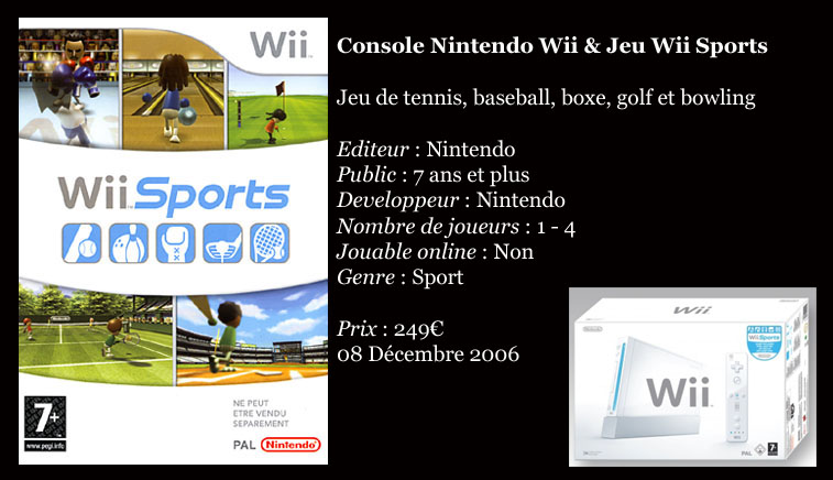 [Console]   Wii  (Nintendo)  2006. Wiispo10