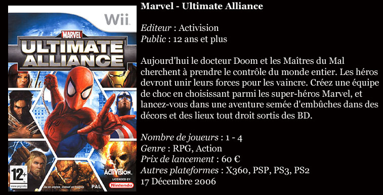 [Console]   Wii  (Nintendo)  2006. Wiiult10