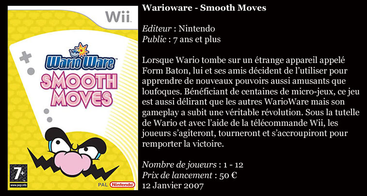 [Console]   Wii  (Nintendo)  2006. Wiiwar10