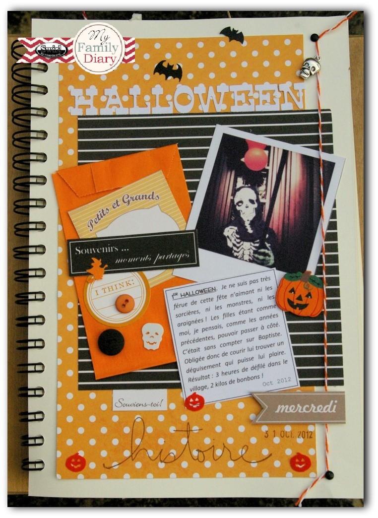 ** Family Diary - AURORE  ** Maj du 23/11/13 Hallow11