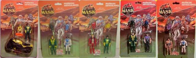M.A.S.K. (Kenner/PlayFul) 1985-1988 Setdea11