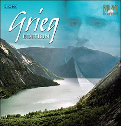 Coffret Brilliant Grieg 50284210