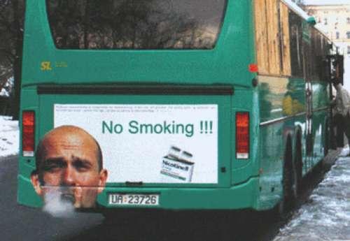 """"""" 1 Cigarette fumée = Moins 11 minutes de votre âge/an 0023410"""