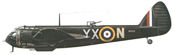 Profil d'avions Blenh-10