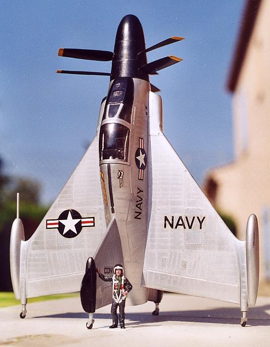 [Lindberg] - Convair XFY-1 Pogo, 1/48 Convai11