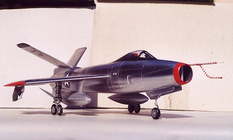 Lindberg - Republic XF-91 Thunderceptor, 1/48 Republ10
