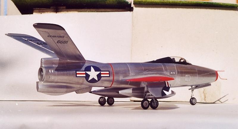 Lindberg - Republic XF-91 Thunderceptor, 1/48 Republ11
