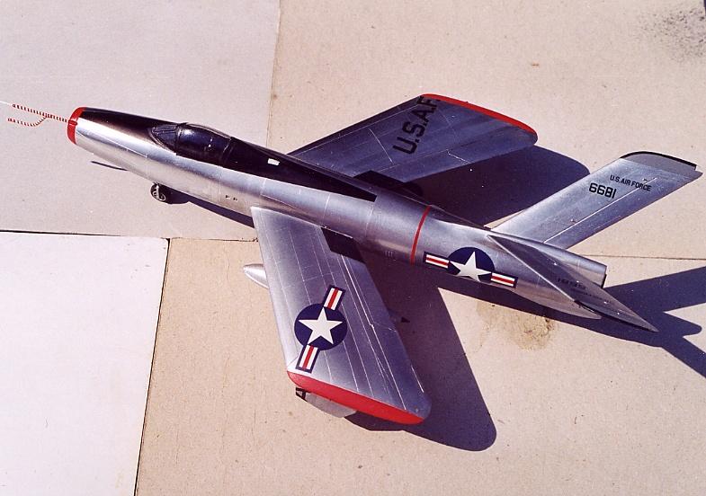 Lindberg - Republic XF-91 Thunderceptor, 1/48 Republ12
