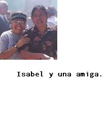 Bienvenida, María Isabel. Isabel10