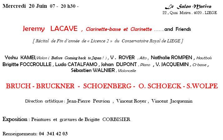 Récital - Conservatoire de Liège - 20-6-2007 Annonc10