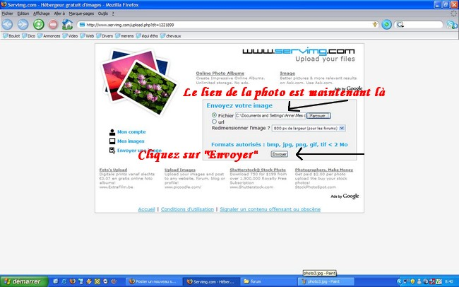Comment poster vos photos Photo410