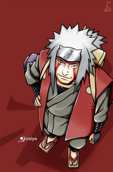 Regarde une feuille de personnage Jiraiy11