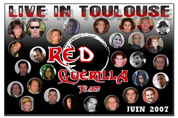 RED GUERILLA  TEAM