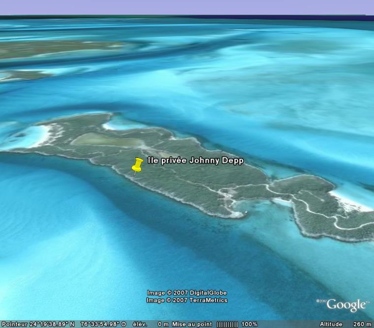 Ile de Johnny Depp, Bahamas Ile_3d10