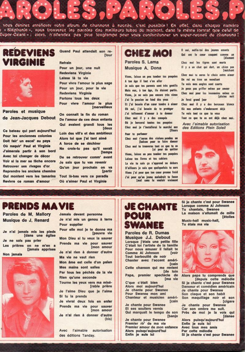 JOHNNY ET LA PRESSE D'HIER A AUJOURD'HUI Img10511