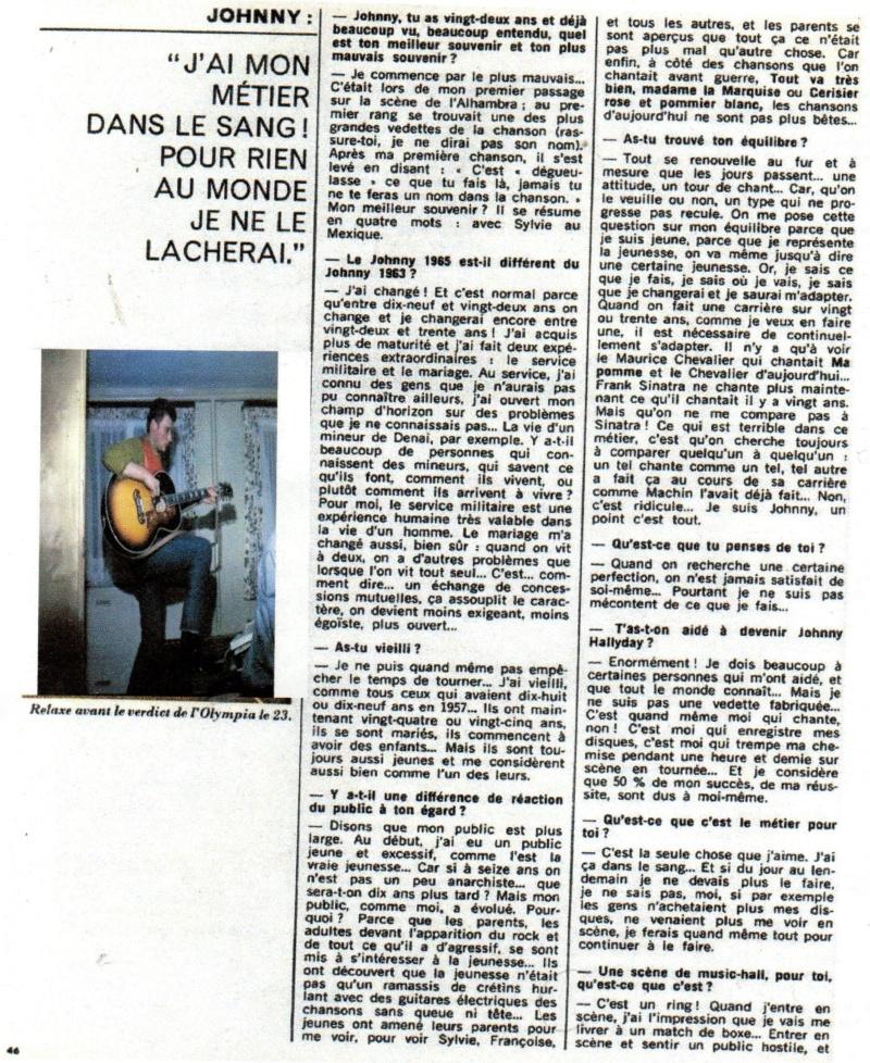JOHNNY ET LA PRESSE D'HIER A AUJOURD'HUI - Page 2 Img11511