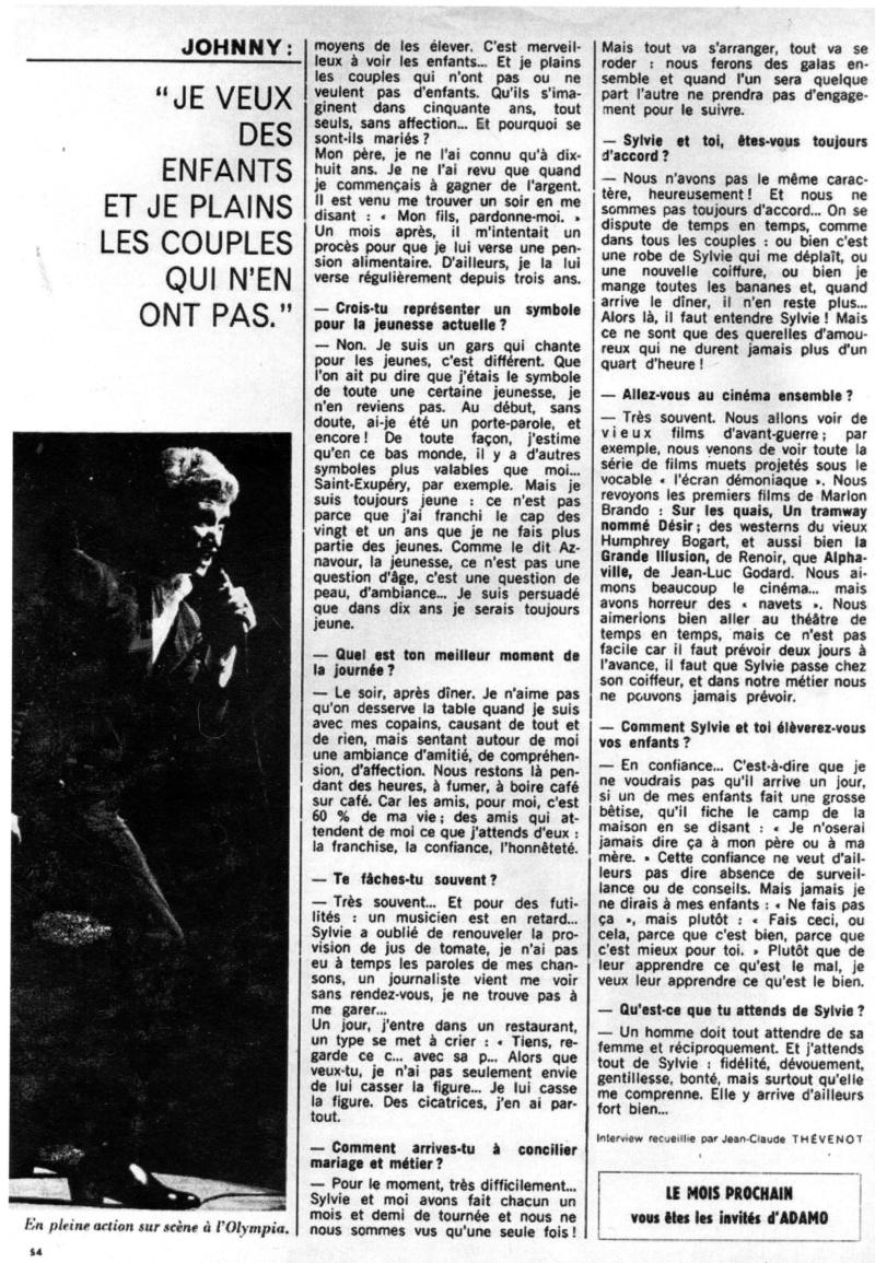 JOHNNY ET LA PRESSE D'HIER A AUJOURD'HUI - Page 2 Img11811