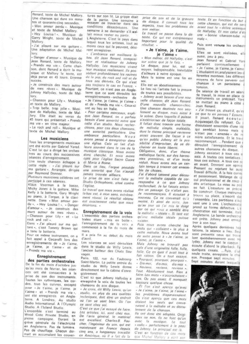 JOHNNY ET LA PRESSE D'HIER A AUJOURD'HUI - Page 2 Img12711