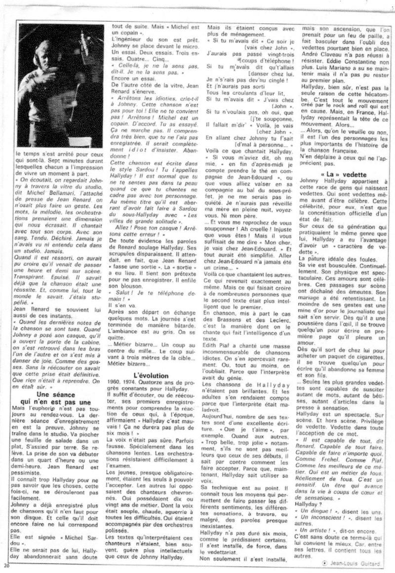 JOHNNY ET LA PRESSE D'HIER A AUJOURD'HUI - Page 2 Img12811