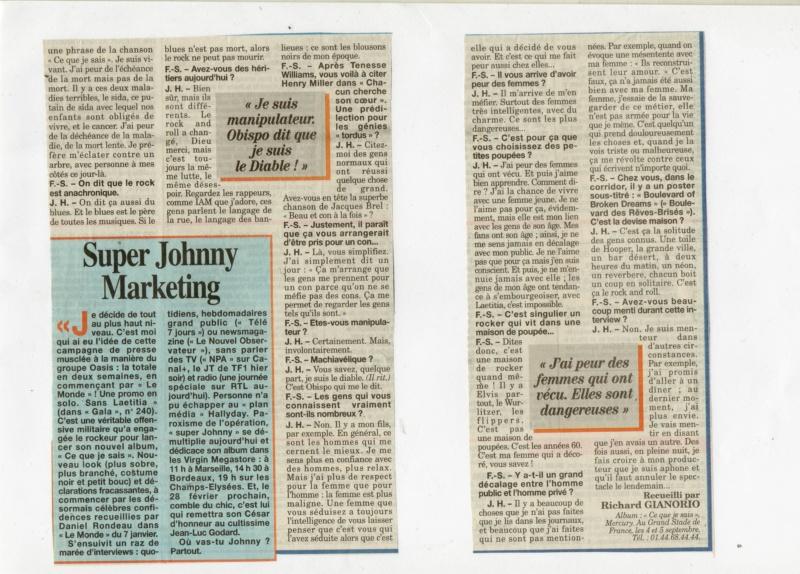 JOHNNY ET LA PRESSE D'HIER A AUJOURD'HUI - Page 3 Img16011