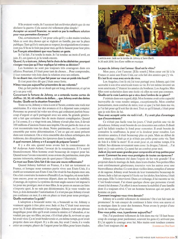 JOHNNY ET LA PRESSE (2) - Page 20 Img51610