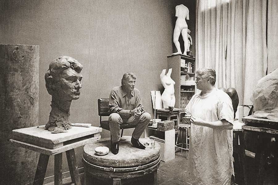 sculture de Johnny par Daniel Duret Sculpt14