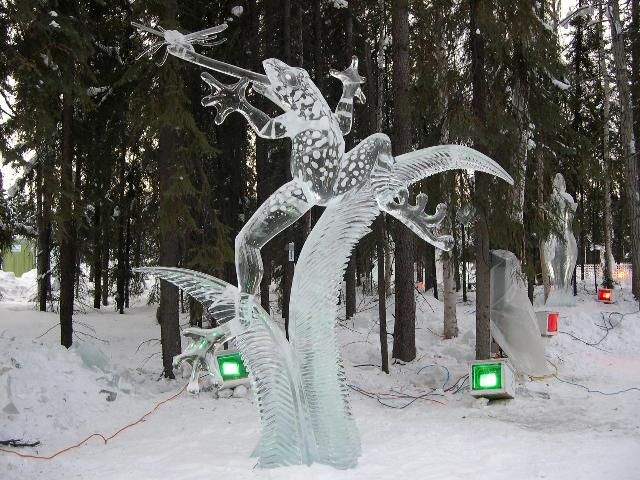 Sculpture de glace Belle-10